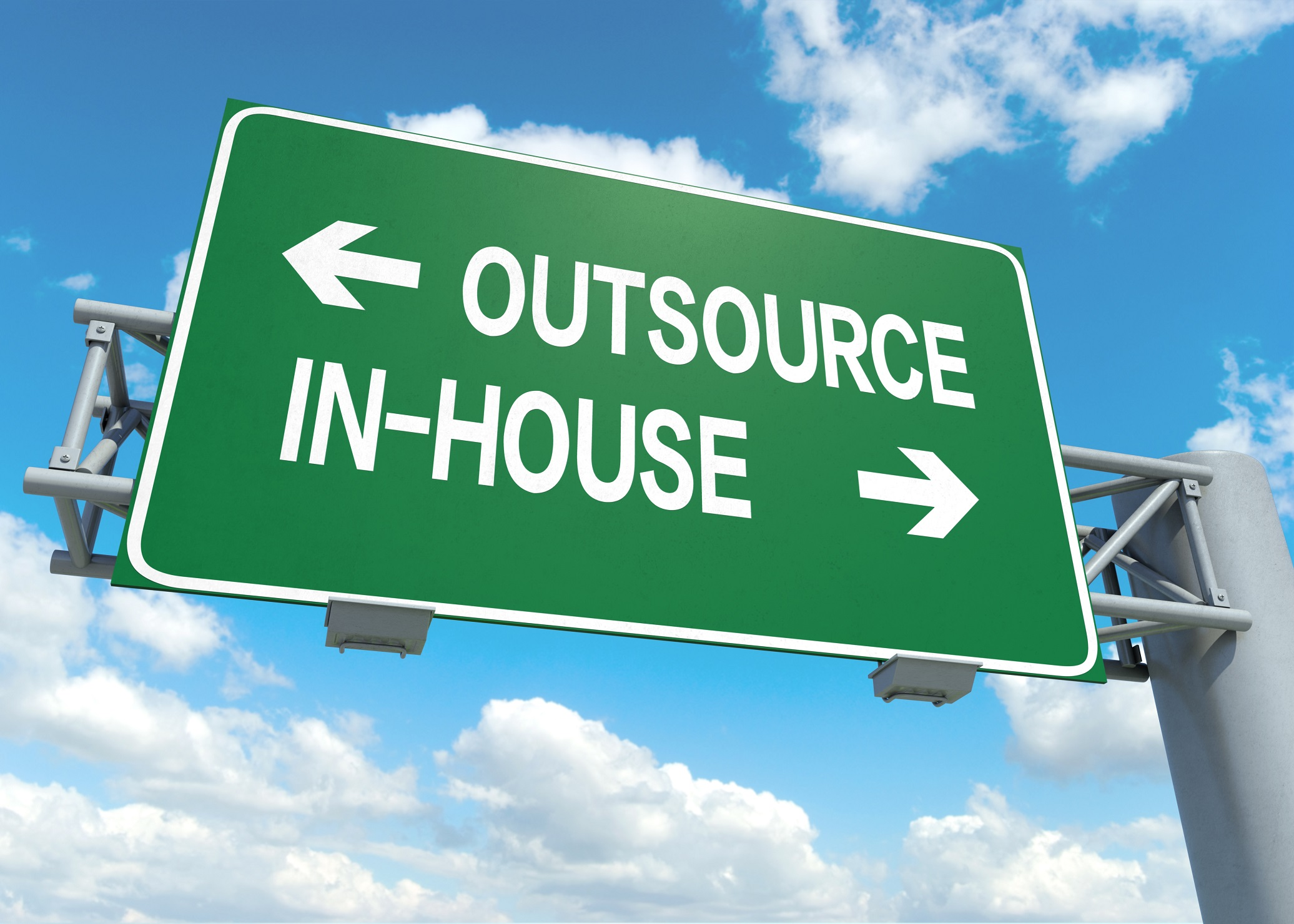 Pros and cons of outsourcing your