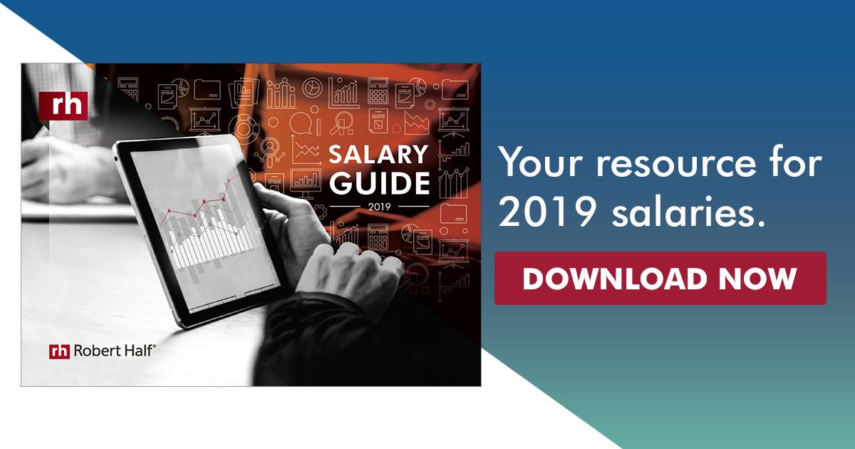 2019 Salary Guide Australia | Robert Half