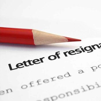 Resignation letter templates Resignation Robert Half
