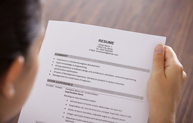 How to create a simple resume template | Robert Half