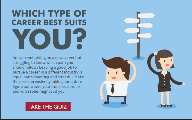 career change quiz  which type of career best suits you