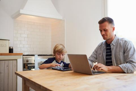 7 tips to help you survive working from home with kids | Robert Half