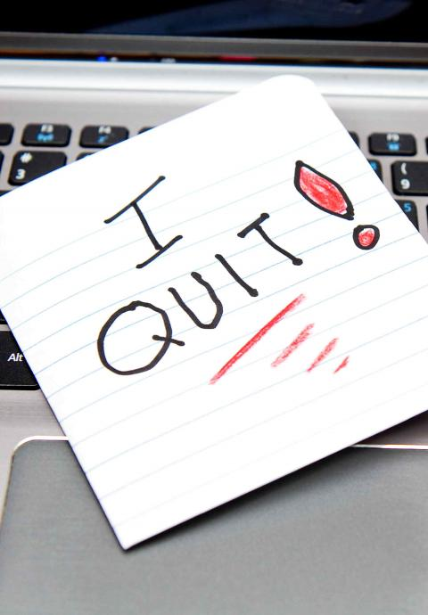 How To Quit Your Job Robert Half