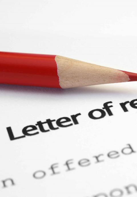 resigning letter template