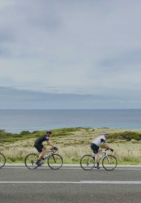 Bicycle ride through Tasmania