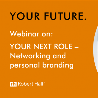 Building your personal brand to land a new role